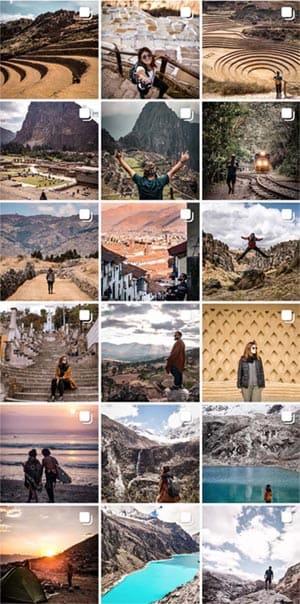 Perfil de Instagram de @takemymaps